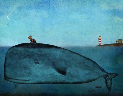 Ознакомьтесь с этим проектом @Behance: «Set of whale postcards» https://www.behance.net/gallery/16030145/Set-of-whale-postcards