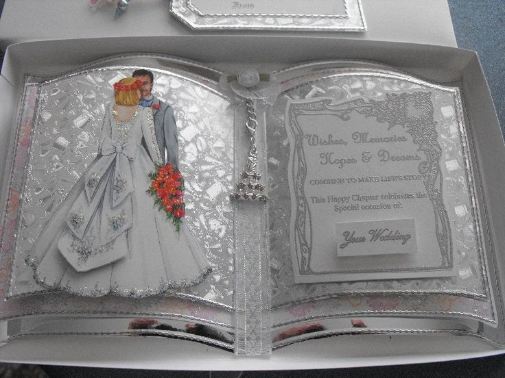 Using the Bookatrix a Wedding Card in a box