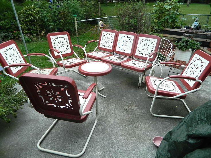 Garden Furniture Vintage 253 best vintage garden furniture images on pinterest | garden