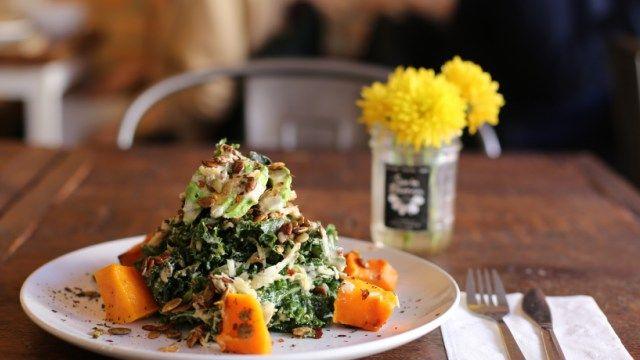 Sun In Bloom, raw and vegan restaurant in New York.