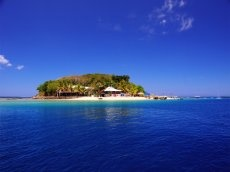 Port Vila, Vanuatu in the South Pacific.  Hideaway Island Resort and Marine Sanctuary.