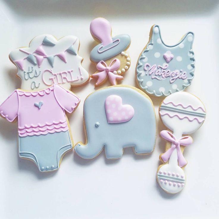 "366 Likes, 3 Comments - Jill Wagner (@customcookiesbyjill) on Instagram: ""#babyshower #showerfavors #favors #customcookies #decoratedcookies #cookies #berwyn…"""