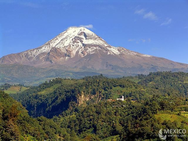 27. Pico de Orizaba, Veracruz y Puebla, Mx