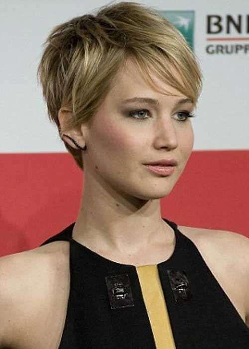 Cortes de pelo pixie 2016: El corto también es femenino - Corte pixie de Jennifer Lawrence