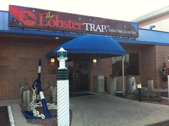 The Lobster Trap Restaurant features a casual nautical theme, including the Rum Runner Lounge and outdoor patio. Specializing in live lobster, fish and seafood and also serving great steaks, chicken, pasta and more. This restaurant is also noted for their friendly staff. Challenge: Take a picture with Pirate Bill Johnston and post it to our Facebook page!