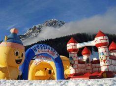 Parchi giochi sulla neve