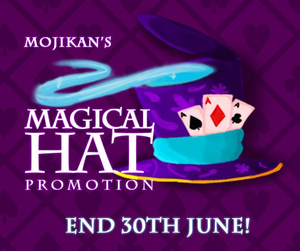☆ ★ Mojikan's Magical Hat Promotion ☆ ★ Play any game within the Kash Karnival for your chance of being offered a Magical Hat's Pick n Win Card! You could win Remo Coins, XP or even Kash Rewards! Play Now to see what you will WIN - https://apps.facebook.com/kashkarnival/
