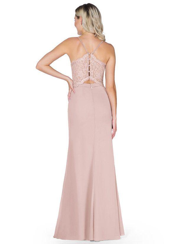 L501 Bridesmaid Dress Blush Prom Dress Ruched Sweetheart Maxi Dress Cap Sleeves Chiffon Dress Illusion Lace Back A-line Dress Wedding Dress