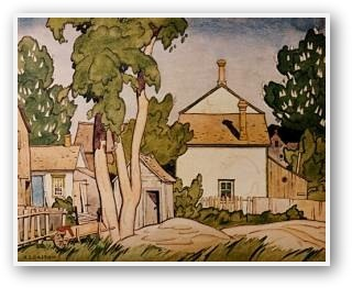 A.J. Casson  Early Summer Norval