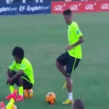 Neymar with the skills. BUUUSSHHCCKKOOOM=the sound of your mind being blown=auto correct's worst nightmare