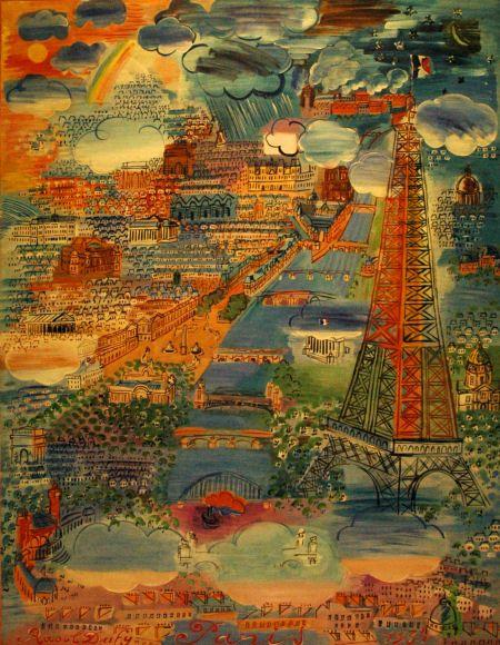 """Raoul Dufy (1877-1953), """"Paris"""""""