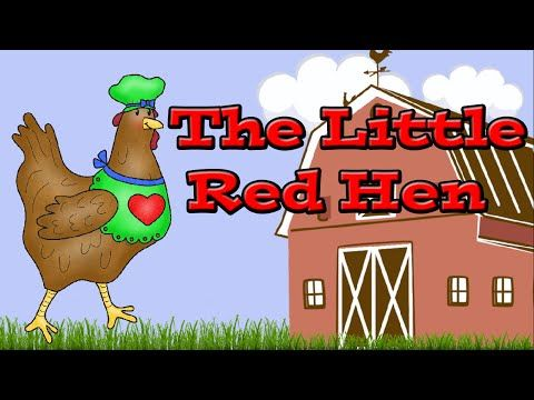 The Little Red Hen: Kids Learning Video - YouTube