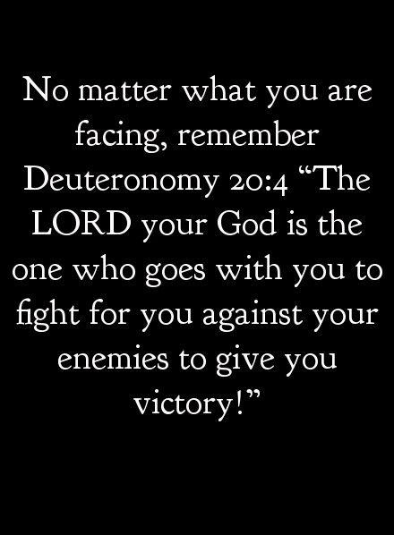 Deuteronomy 20:4