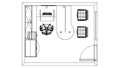 Sample Vancouver office floor plans designing and drawing a