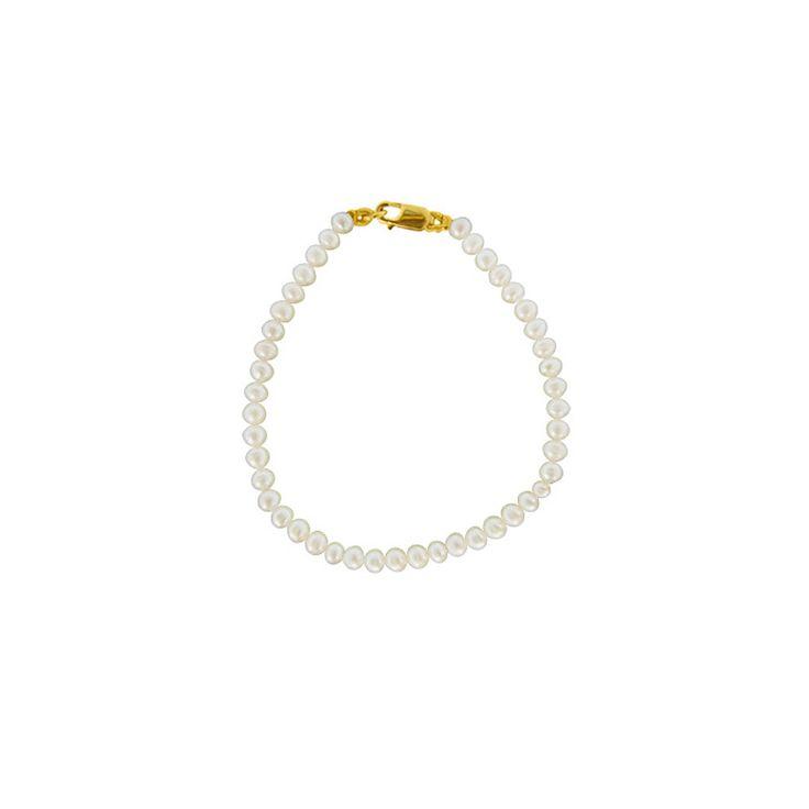 Βραχιόλι με λευκά μαργαριτάρια - G121332
