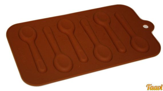 TAAVI Spoon candy making Silicone Mold  (T003)