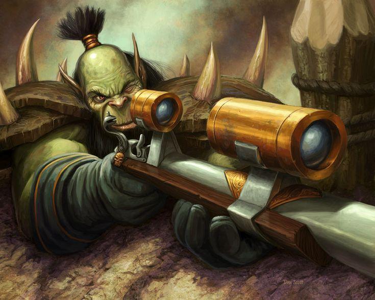 World of #Warcraft #Orc #hunter | Nerd Stuff | Pinterest ...