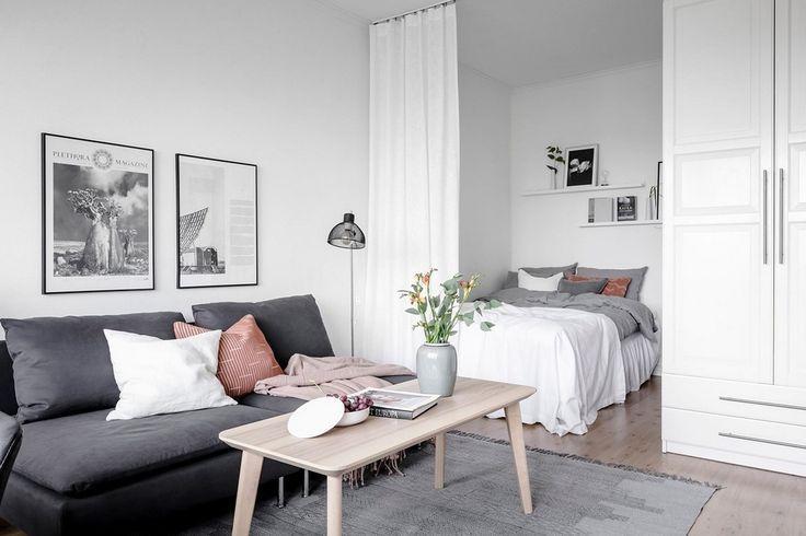 42 Fantastic Studio Apartment Dekorieren Ideen mit kleinem Budget