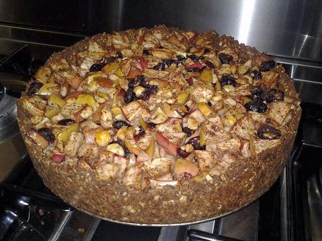 Deze appeltaart is geinspireerd op het recept van de voedselpiramide. Ik ben nooit zo goed in het volgen van recepten en geef er graag mij...