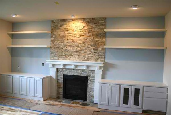 Airstone Fireplace Makeover: Best 25+ Airstone Fireplace Ideas On Pinterest