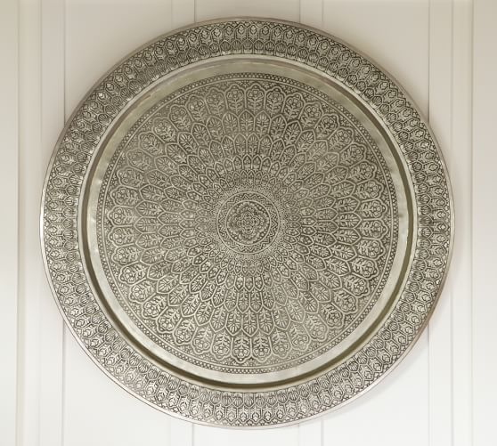 Decorative Metal Disc Wall Art