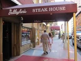 NY steak @ Gallagher's