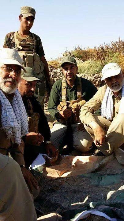 القادة في الميدان الحاج سليماني والمهندس ابو مهدي