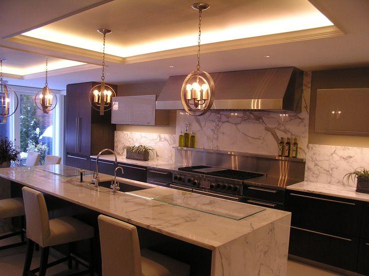 Soffit lighting in kitchen lowes moreno valley kitchen design lighting options pinterest - Kitchen soffit design ...