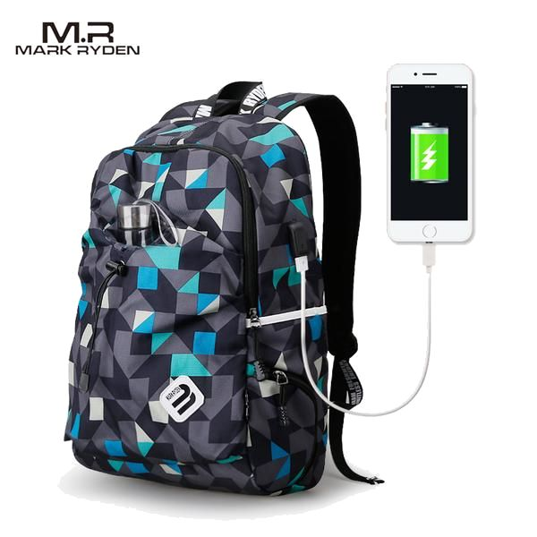 You always wanted a stylish modern backpack for school or traveling? This one is one of our best options. Big capacity, comfortable, modern design and USB port. Don't worry about the rainy days its water repellent!