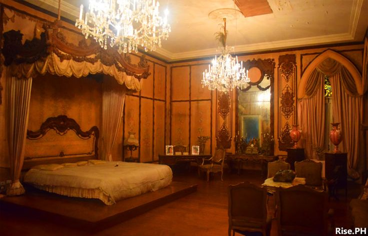 Imelda Marcos Room, the largest bedroom in the museum