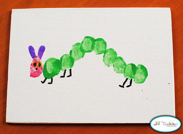 fingerprint caterpillar