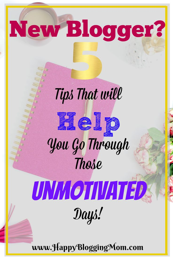 unmotivated days post
