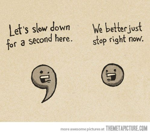 I will use this in my punctuation mini lesson. It is funny, so students in grade K or 1 will love to learn punctuation through this cartoon like picture. Also, I will put this on the writing board so that students can see it at any time they need it.
