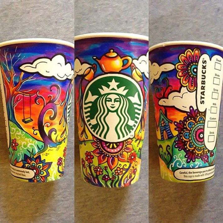 12 best ideas about decorating starbucks cups on Pinterest ...