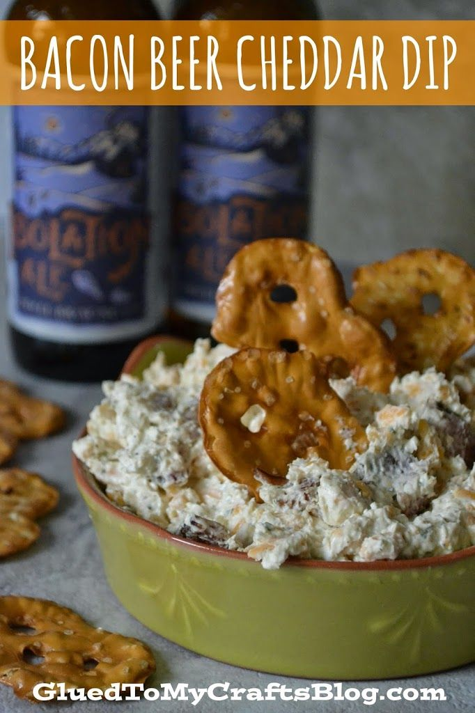 An appetizer recipe that is sure to be a hit with the adults at your next holiday party. Bacon Beer Cheddar Dip