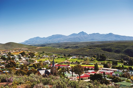 Uniondale: Just the otherside of the mountains and through the Langkloof.