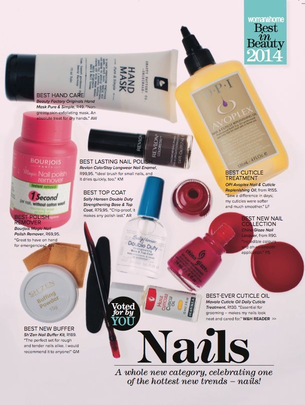 We're so proud ! The Sh'Zen Buffing Kit is listed in the Best of Beauty 2014 by Woman and Home SA.