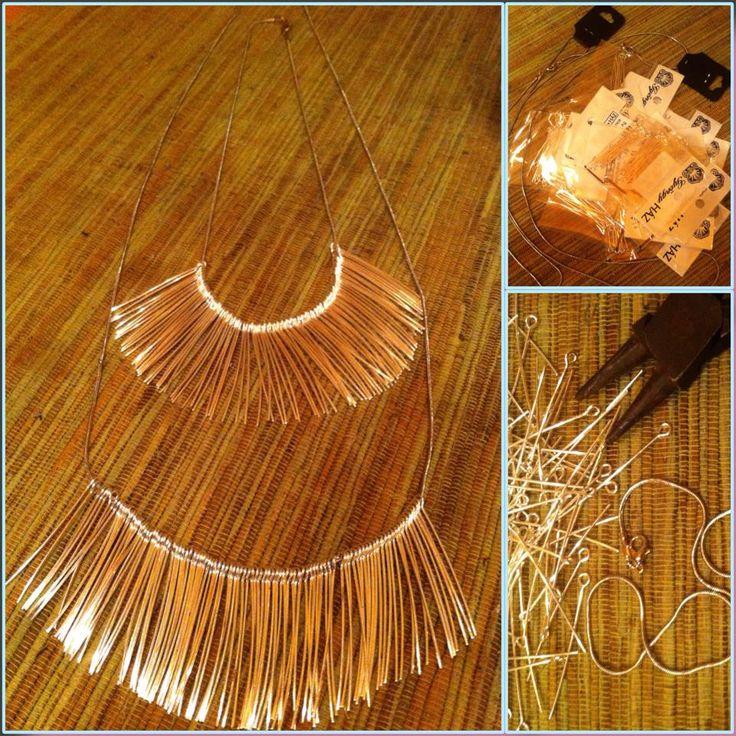 diy necklace by me