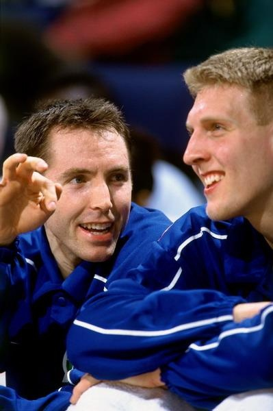 Dirk Nowitzki and Steve Nash by Christina_Dallas41, via Flickr