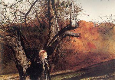 Un Helga Pictures di Wyeth: Autumn (Autunno)