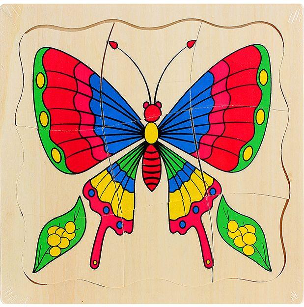 Сложи картинку насекомые