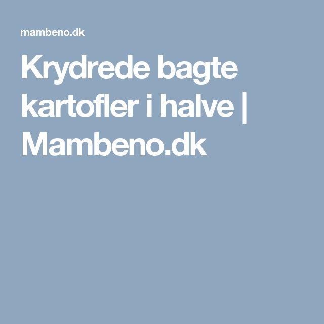 Krydrede bagte kartofler i halve | Mambeno.dk