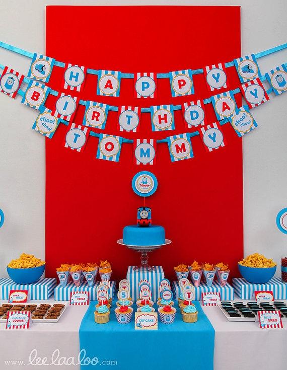 Kids Choo Choo Train Birthday Printable Image For Cake