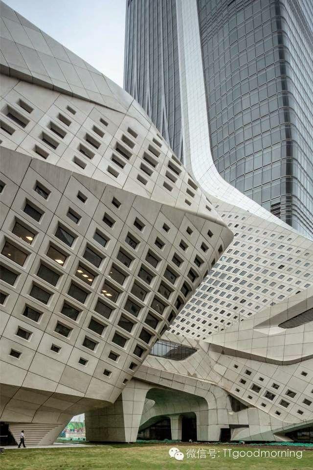 Nanjing youth olympic centre zaha hadid china for Parametric architecture zaha hadid