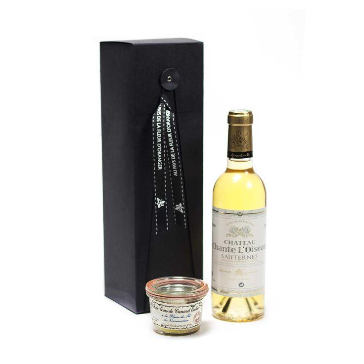Black box vin blanc moelleux et foie gras de canard entier