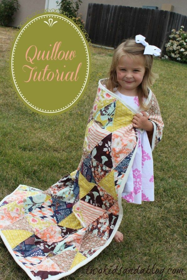 Quillow Tutorial - http://www.sewwhatalicia.com