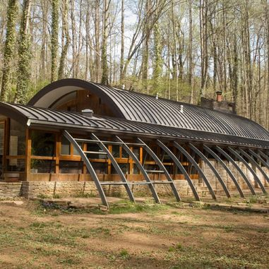 69 best quonset images on pinterest quonset homes for Modern quonset homes