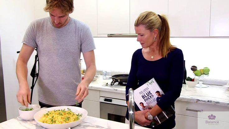 How to make shellfish, chilli and lemon pasta. Cooking with Blue Ducks Mark and Darren