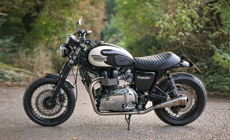 Triumph Bonneville T 100 Speedster by Spirit of the Seventies