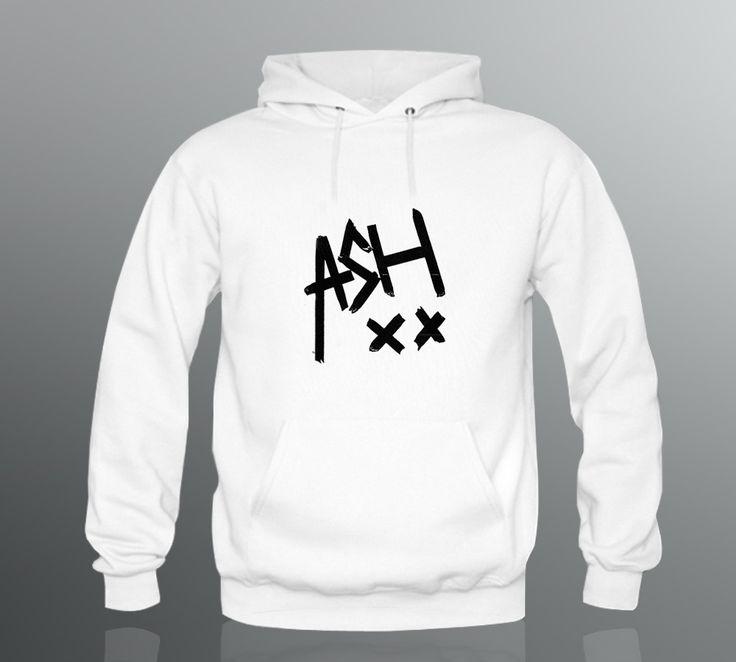 Ashton irwin signature 5sos Hoodie XS - 2XL Men's